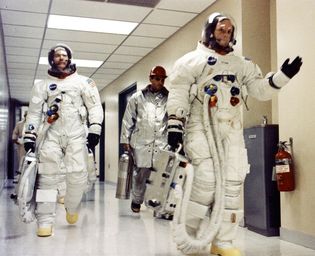 How Neil, Buzz and Mike Got Their Workouts in on Their Way to the Moon and Back