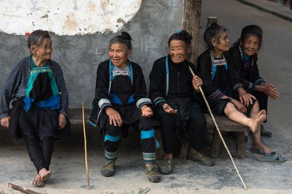 Yao Women in Jiabang Area in China thumbnail