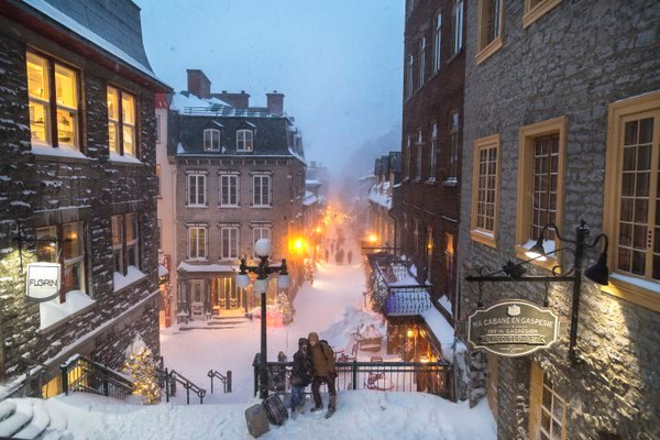 Winter Storm Quebec City. thumbnail