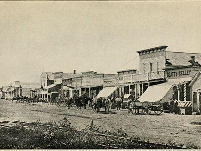 Dodge City in 1878