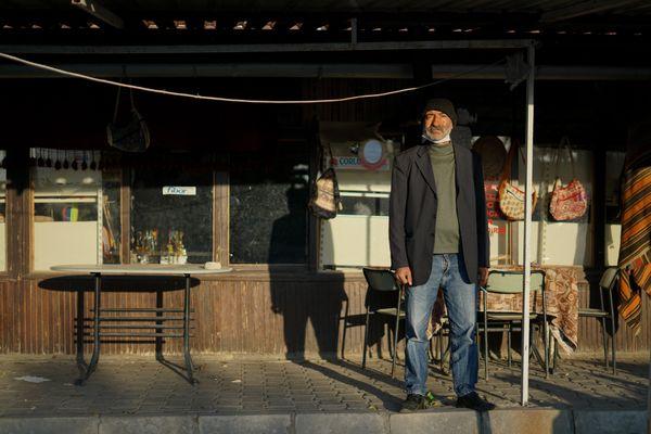 A tradesman near an underground city in Cappadocia thumbnail
