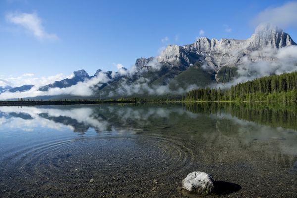 Rising Mists at the Lake thumbnail