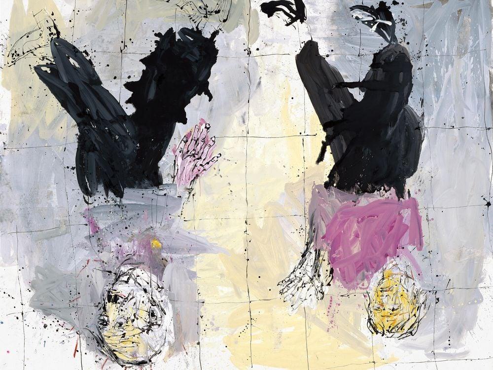 Adieu (Remix), Georg Baselitz