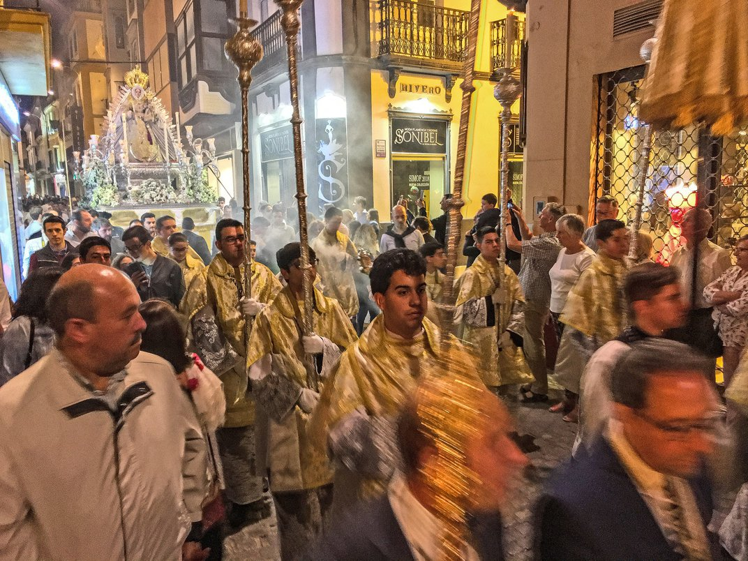 Religious Procession In Sevilla, Spain