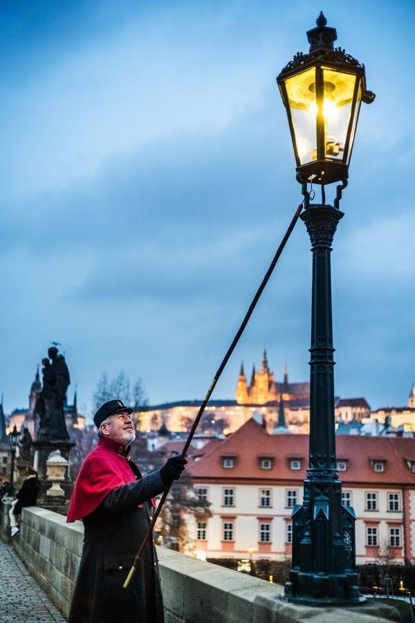 Lamplighter in Prague thumbnail
