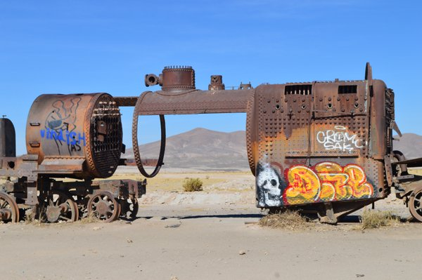 Cemetario de Trenes (Train Cemetery) of Bolivia thumbnail