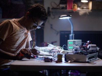 It took several weeks and a number of attempts before Shubham Banerjee built a working prototype of his Braille printer.
