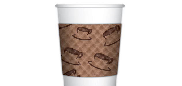 The seemingly simple coffee cup sleeve represents the genius of design.