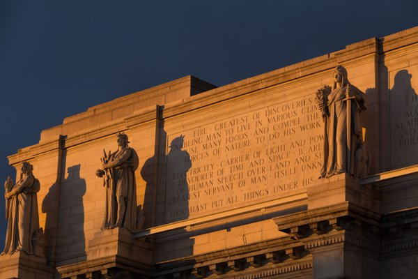 Union Station-DC-Statues and Inscription thumbnail