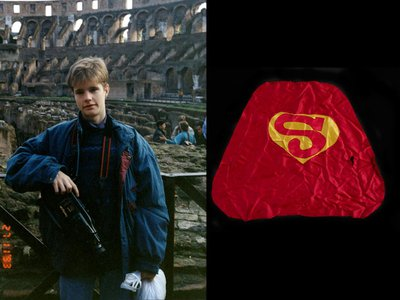 Judy and Dennis Shepard signed into the custody of the Smithsonian powerful emblems of their son's life, ranging from a smiling photo of Matt taken during his high school studies in Switzerland to a child-sized Superman cape worn down from regular and energetic use.