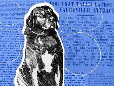 Don the Talking Dog was a vaudeville hit.