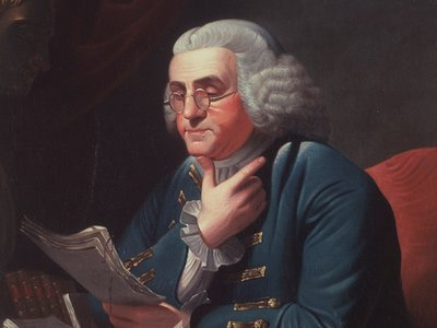 """The original name proposed had been """"Frankland,"""" but the counties changed it to Franklin in an attempt to get Benjamin Franklin on their side. No luck, alas."""