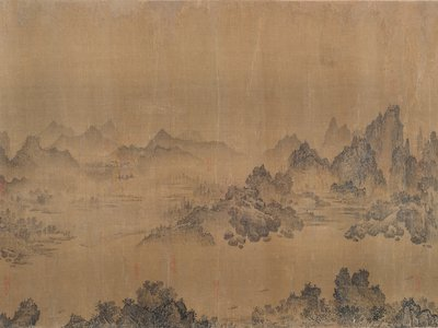 Ten Thousand Li Along the Yangzi River, traditionally attributed to Juran (active 960–986), China, Southern Song dynasty, mid-12th to early 13th century