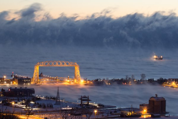 Lake Superior Sea Smoke thumbnail