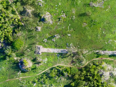 Built at the turn of the seventh century, the white plaster-coated road begins in Cobá and ends 62 miles west, at Yaxuná's ancient downtown in the center of Mexico's Yucatan Peninsula.
