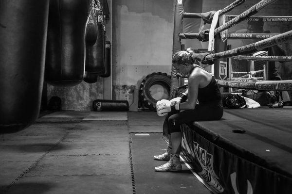 A Boxer Prepares thumbnail