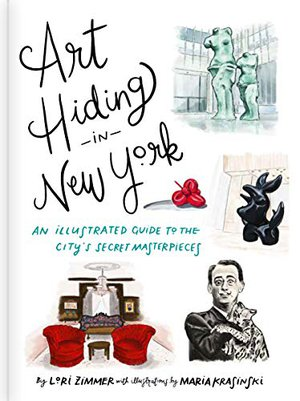 Preview thumbnail for 'Art Hiding in New York: An Illustrated Guide to the City's Secret Masterpieces
