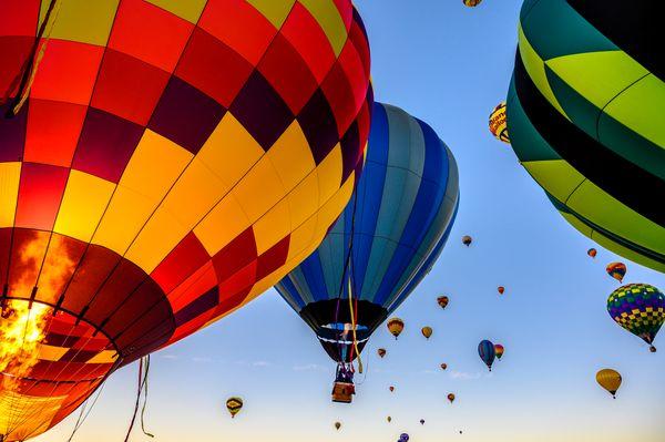 Balloon Festival Sunrise thumbnail