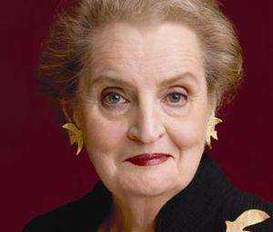 Madeleine K. Albright headshot