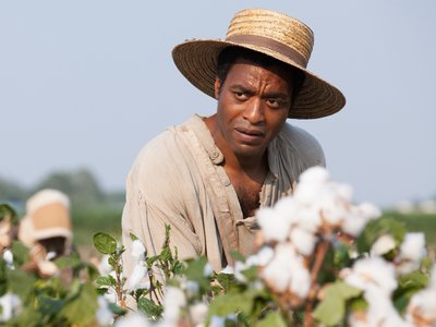 Solomon Northup, portrayed by Chiwetel Ejiofor in 12 Years A Slave.