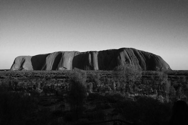 Uluru in Noir thumbnail