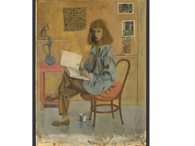 Would Elaine de Kooning have been a better known artist if she hadn't married the leading Abstract Expressionist of the 20th century? (Self-portrait, 1946)