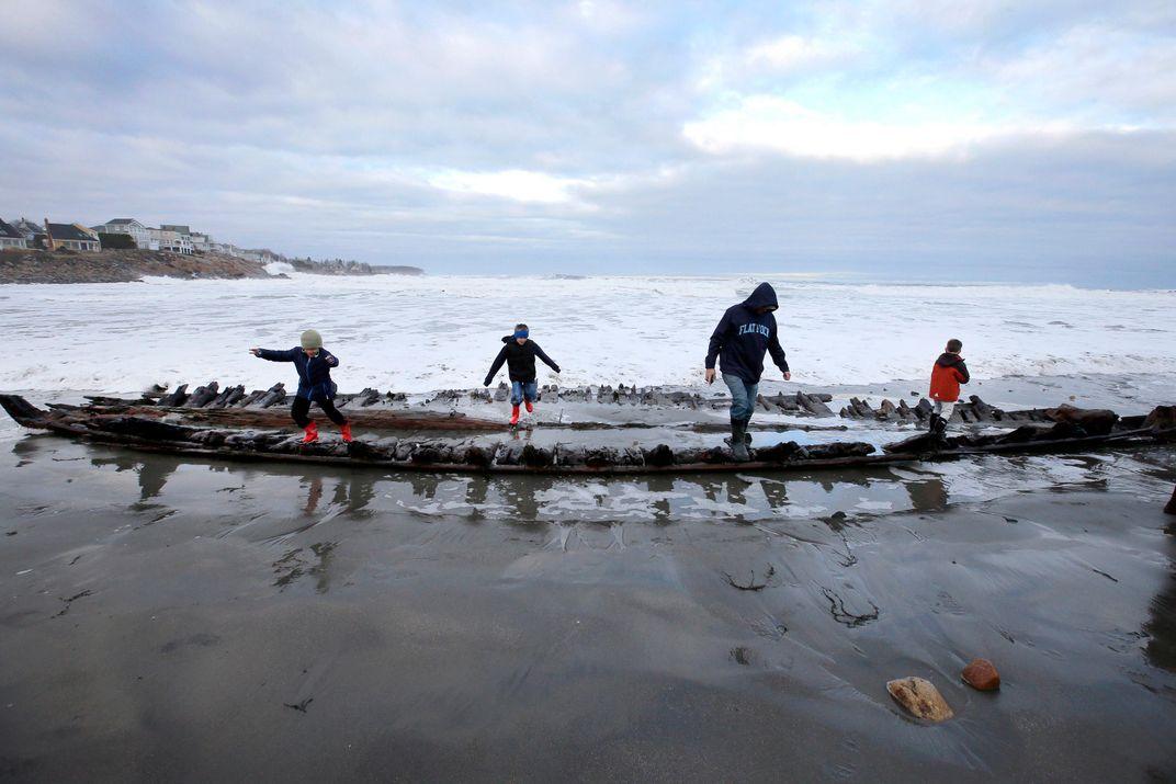Maine Shipwreck Identified as Colonial-Era Cargo Vessel