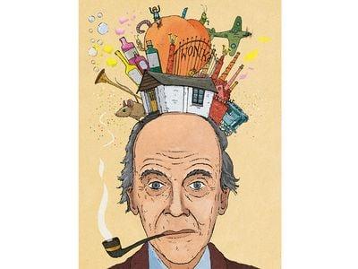 Roald Dahl illustration