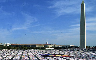 This year marks the 25th anniversary of the AIDS Memorial Quilt, which will be unfolded at the Smithsonian Folklife Festival.