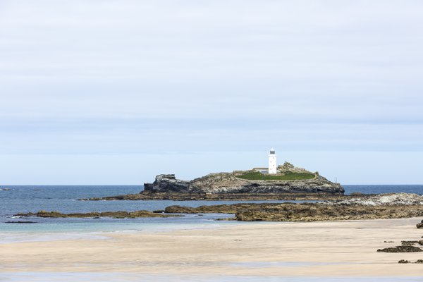 The Godrevy Lighthouse, Cornwall, UK thumbnail