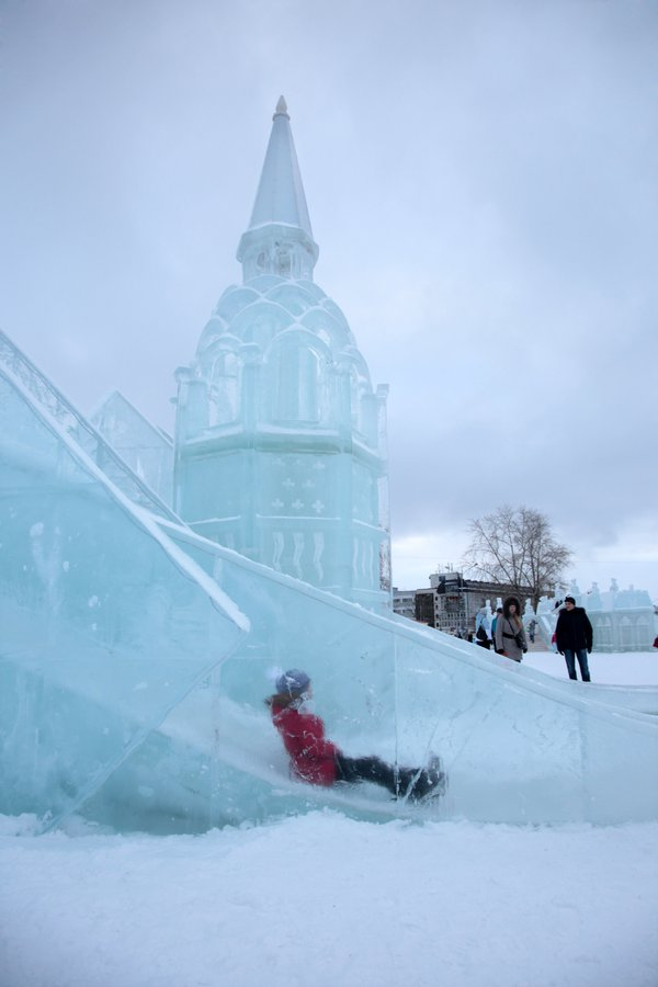 Ice town, Perm, Russia. thumbnail