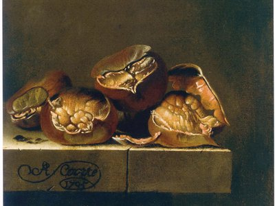 This painting by Adriaen Coorte was among art stolen from an East German art collector by the Stasi in the 1980s.