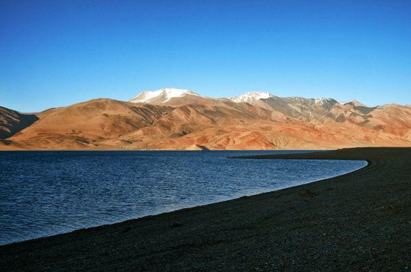 Tso Mo Ri Ri at dusk, Ladakh thumbnail