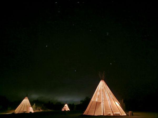 Glamping tipis and stars thumbnail