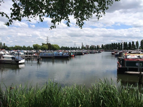 Boats in a mooring, Sawley Marina, UK thumbnail