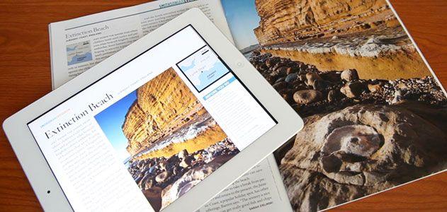 Smithsonian magazine iPad app