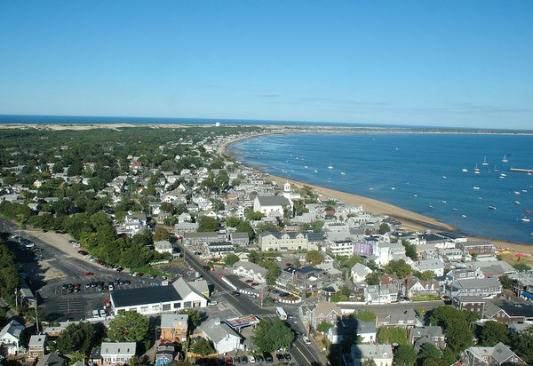 View from Atop Provincetown Monument thumbnail