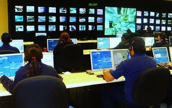 An emergency call center
