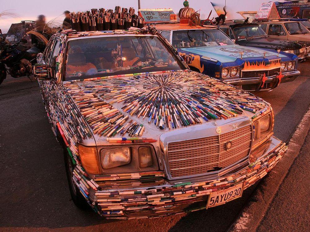 Art car festival in San Francisco