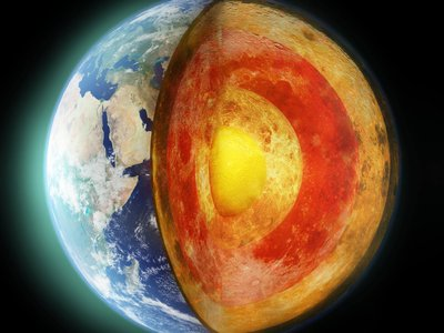 Diamonds squeeze the truth about Earth's core out of experimental samples of iron and lighter elements like oxygen and carbon.