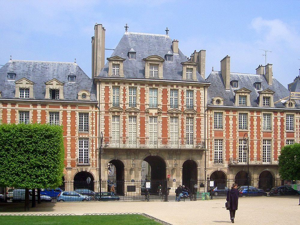 Vctor Hugo's Paris Apartment: Place Des Vosges