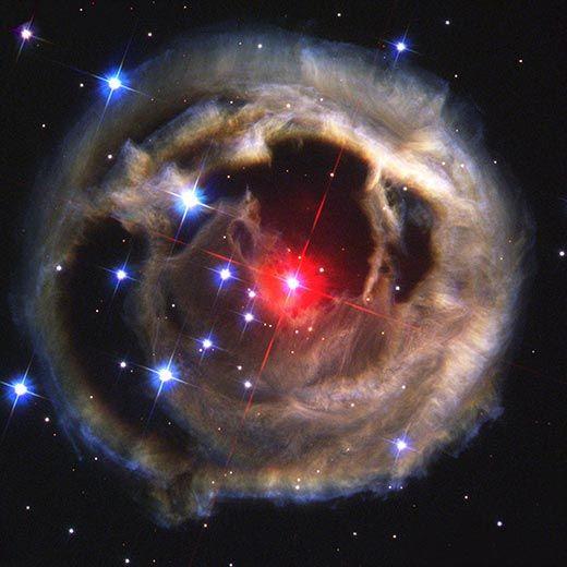 Red supergiant V838 Monocerotis