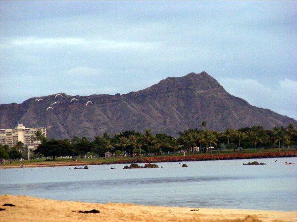 Diamond Head Crater (Waikiki Beach in Honolulu HI) thumbnail