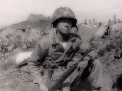 Chew-Een Lee was the first Chinese American Marine officer and served during the Korean and Vietnam Wars.