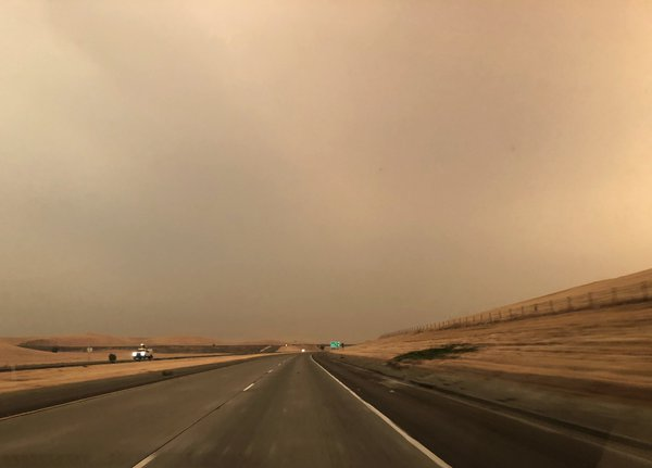 Road through California Smoke thumbnail