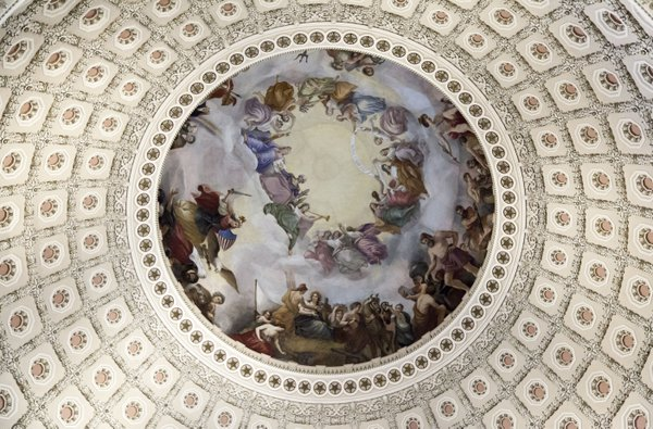 The Apotheosis of Washington thumbnail