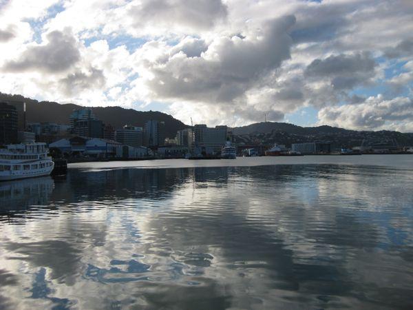 Lambton Harbor in Wellington, New Zealand on a winter day. thumbnail