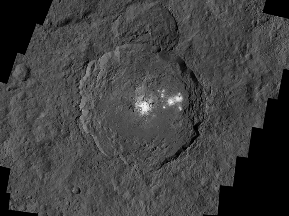NASA Mission Shows Dwarf Planet Ceres Is Geologically Active