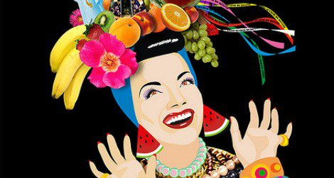 Brazilian bombshell Carmen Miranda, the lady in the tutti-frutti hat