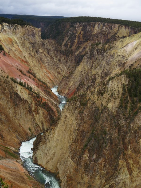 A work of thousands of years - the Yellowstone River valley. thumbnail